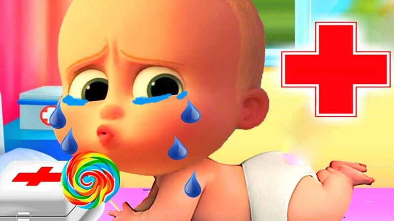 КРОШКА МАЛЫШ как БОСС молокосос 69 мультик для детей как игра ГАМИКС