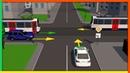 Нерегулируемые перекрестки неравнозначных дорог