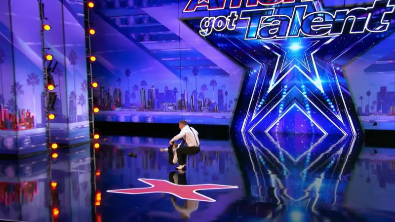 Danylo Oskar- Dad Son Stretch The Limits In This Acrobatic Routine - Americas Got Talent 2017