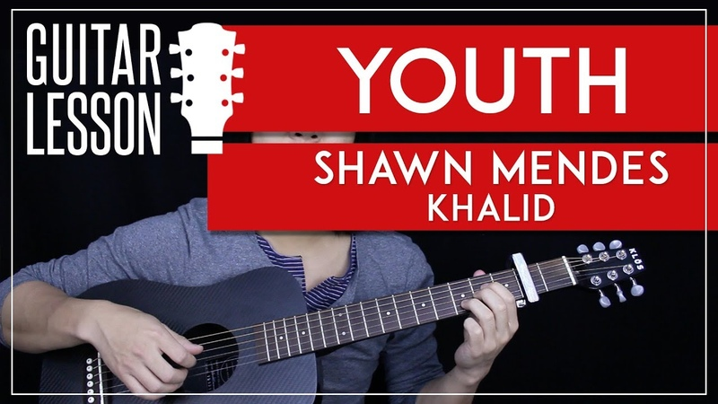 Youth Guitar Tutorial - Shawn Mendes Guitar Lesson 🎸|Easy Fingerpicking Tabs Chords Cover|
