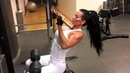 Back and triceps with Adriana Kuhl gym workout fitness фитнес бодибилдинг тренировка мотивация бодиф