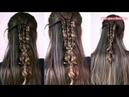 Коса в школу Причёска на каждый день Hair tutorial Trenza Braid