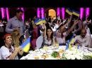 Вінничани в Азербайджані зачарували європейську молодь українським гопаком