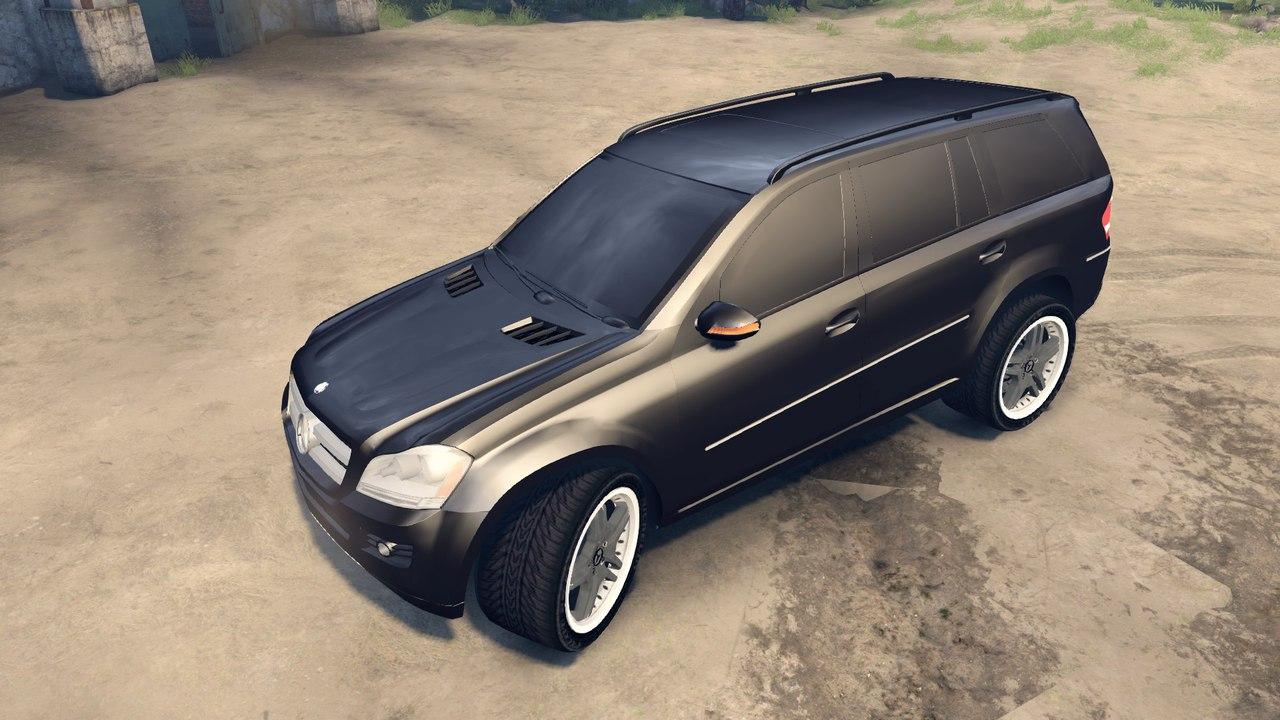 Mercedes-Benz GL-klasse для Spintires - Скриншот 1