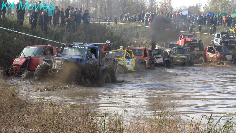 4x4 Off-Road vehicle mud, water race | Andsumae 2018 | ET1