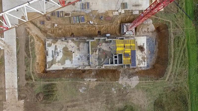 ЖК Инновация — съёмка с воздуха (октябрь 2018)