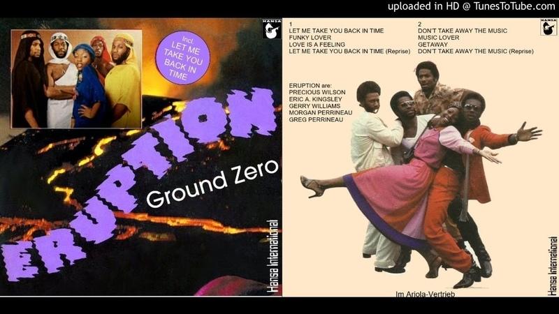 Eruption Feat. Precious Wilson Ground Zero (Full Album) [1977]