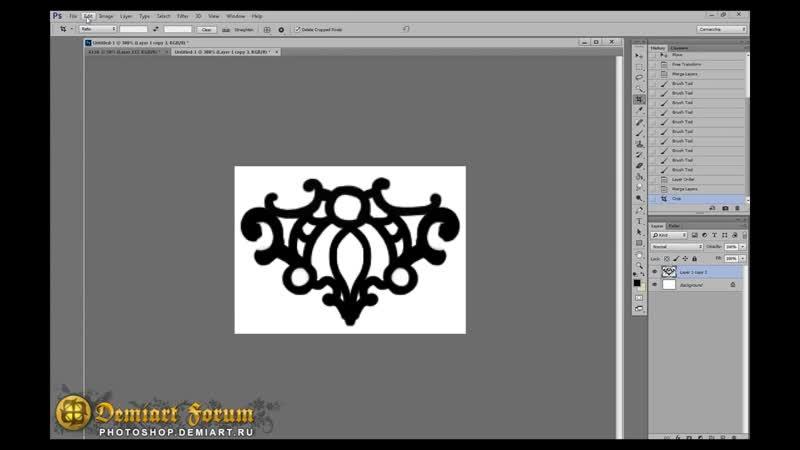 Декорирование ткани от Cornacchia Урок Photoshop