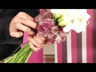 www.makovcvet.ru/ De Haas Calla's Arrangement Calla Crystal Blush