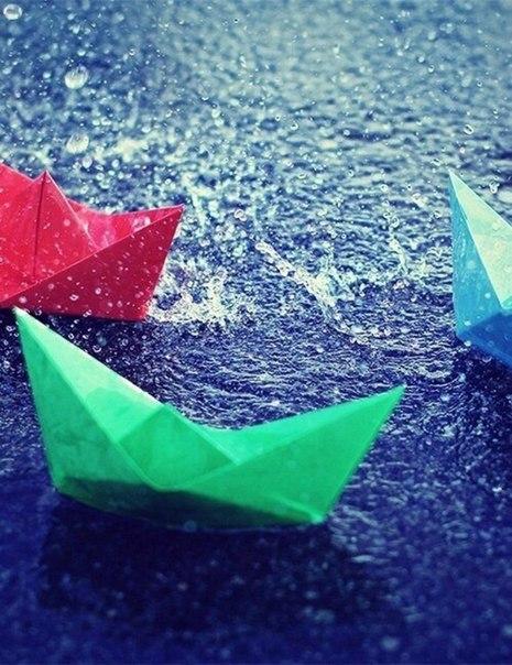 почему же дождик: