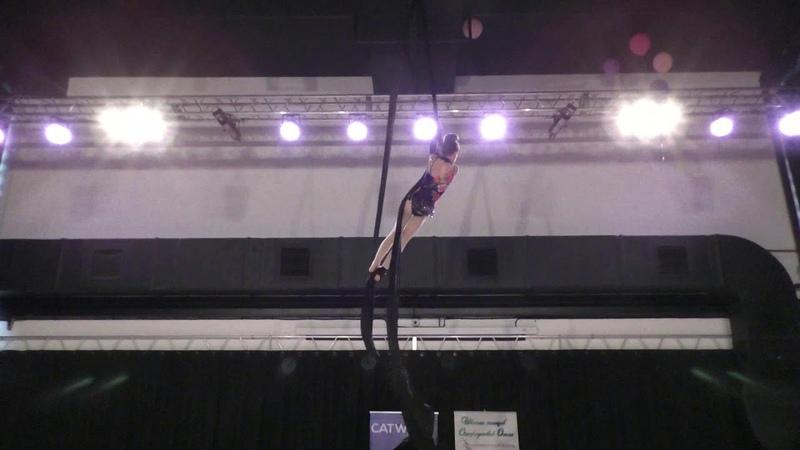 Виктория Кузнецова Catwalk Dance Fest pole dance aerial 30 04 18