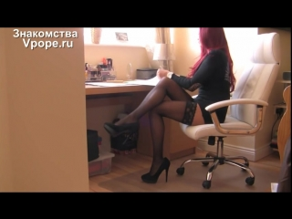 Foot fetish Nylon stocking and high heels shoes Woman feet (Ножки, Фетиш, Фут, Foot, Fetish, Чулки, Legs, Секси)