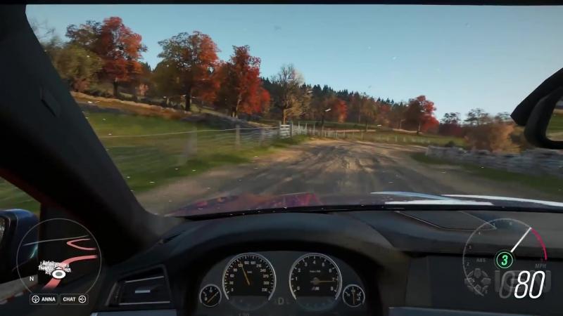 Геймплей Forza Horizon 4.