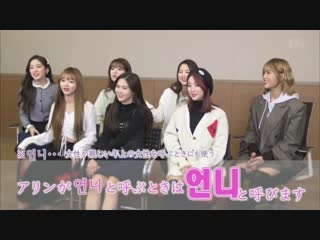 · Interview · 190206 · OH MY GIRL · Hangul Course L on TV ·