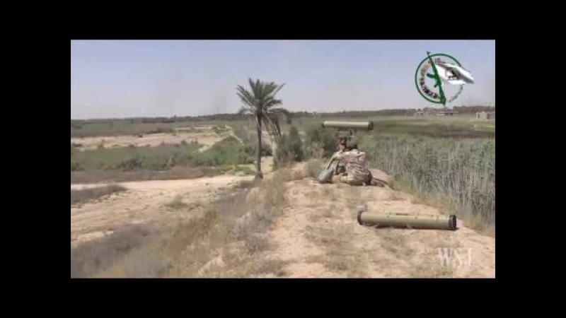 ПТРК Корнет в битве за Мосул