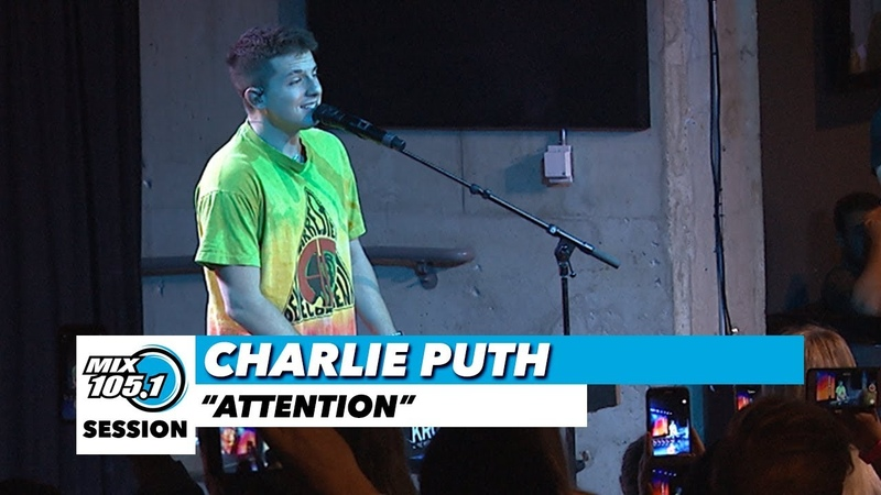 Charlie Puth Attention Mix 105 1 Mix Sessions