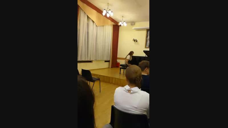 Академический концерт Настя