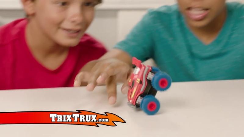 Канатный трек Монстр трак Trix Trux