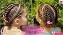 💕 Trenza infinita Dutch Inifinity Braid Trenza de moda WILVITA 💕
