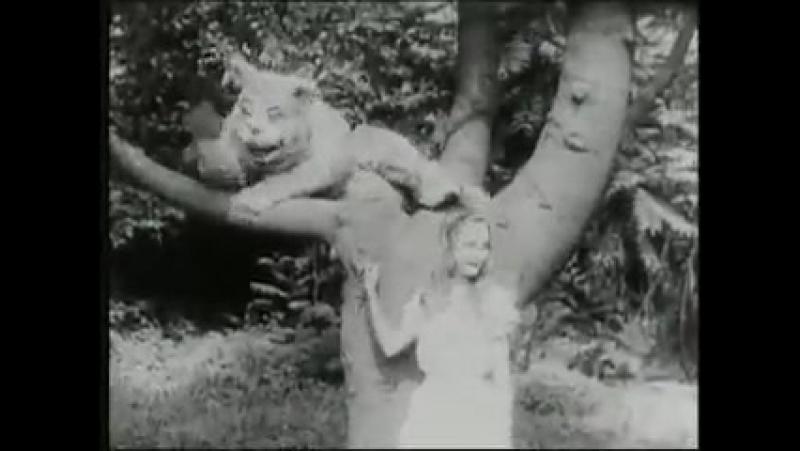 Сесил Хепуорт Алиса в стране чудес Alice in Wonderland 1903