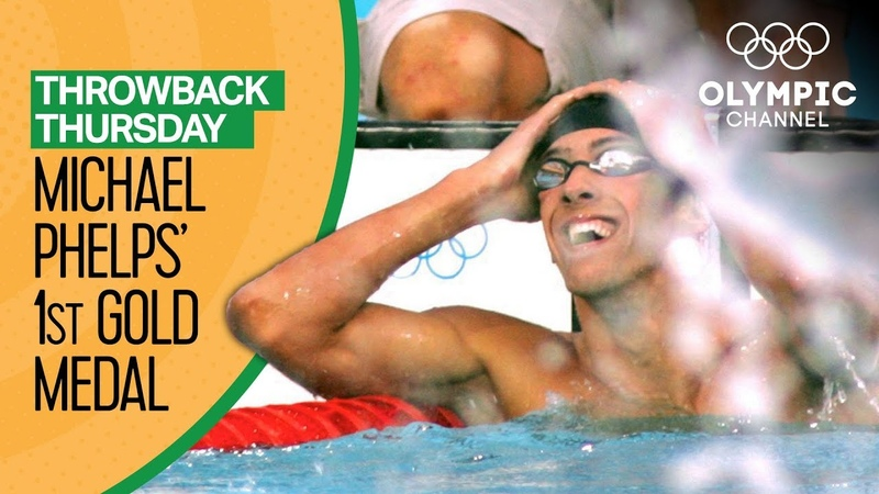 Michael Phelps' 1st Olympic Gold Medal Throwback Thursday