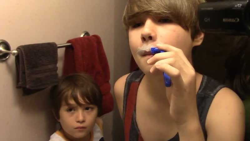 13 year Old Boy′s First Shave! | Travelkatzfamily