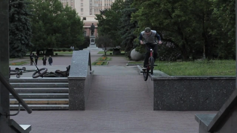 [MAYDAY BRAND] BMX - SASHA AKSENOV WELCOME TO MAYDAY | HAVXINGFUN