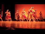 Kaliya and Krishna- Indian Classical Dance item by JHU  Shakti at Nrityamala -2012