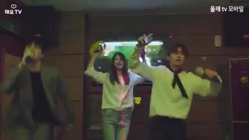 [VID] 181009 VIXX KEN 빅스 켄 the web drama Tofu Personified Karaoke Dance behing