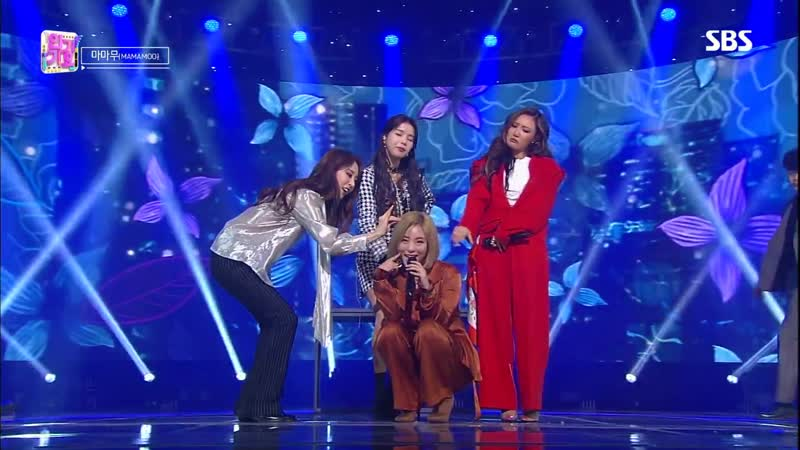 Mamamoo Wind Flower @ Inkigayo 181216