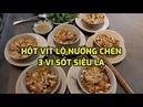 Thử ăn hột vịt lộn nướng chén với 3 loại sốt siêu lạ ở hẻm ăn 346 | Grilled duck embryo egg