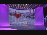Во второй части финала -- Города России, занявшая 3 место Ян Таньюэ выступает с речью Это Иркутск!