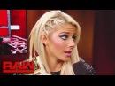 Video@alexablissdaily | Alexa Bliss ponders a visit to SmackDown LIVE: Raw, Nov. 13, 2017