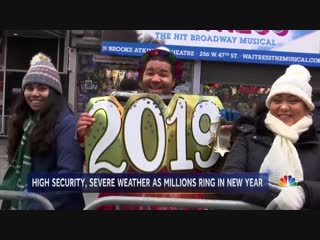 nbc - women wearing diapers on times square dec 2018