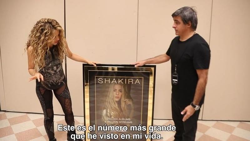 Shakira on Instagram: 6 billones de reproducciones de El Dorado!