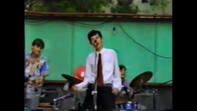 """Ashgabat Ашхабадский рок """"Рваные паруса"""" 1998 первый парк"""