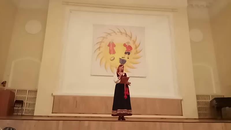 выступление колективов фольклорная асамблея