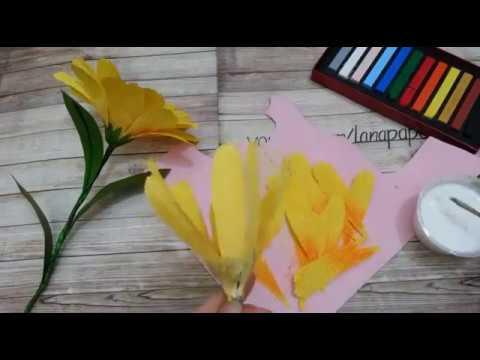 LPFS \ Hướng Dẫn Làm Hoa Rudbeckia Hirta - Making Rudbeckia Hirta Paper Flower