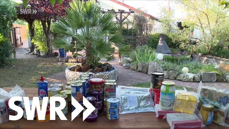 Wie sich Bürger auf Katastrophen vorbereiten I SWR Zur Sache Baden-Württemberg