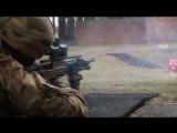 Стрельба из британской винтовки SА80А3