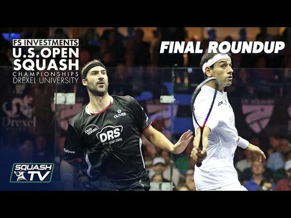 Squash: Men's Final Roundup - Rösner v Mo.ElShorbagy - US Open 2018