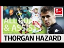 Thorgan Hazard - All Goals and Assists 2017_18