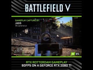 Battlefield V Rotterdam с NVIDIA RTX