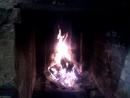 огонь в камине