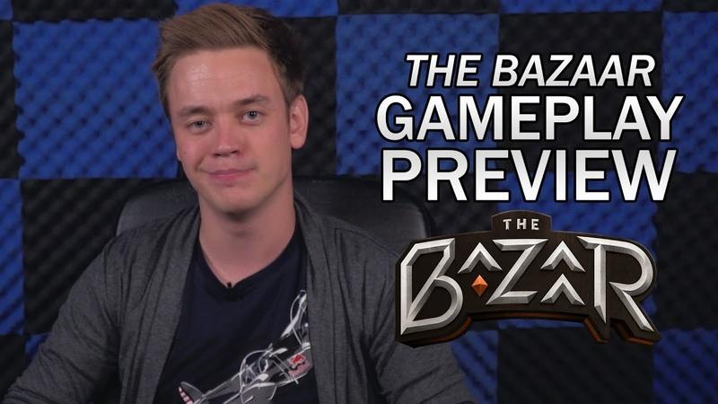 The Bazaar Gameplay Preview! [Indiegogo link below]