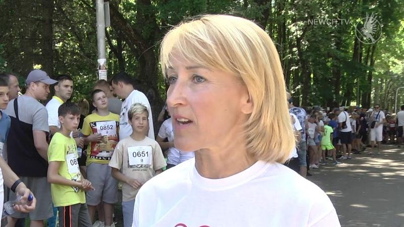 Олімпійський день відзначили в Чернігові| Телеканал Новий Чернігів