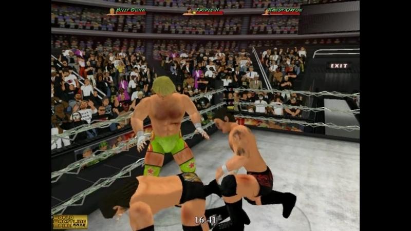 Billy Gunn vs Triple H vs Randy Orton