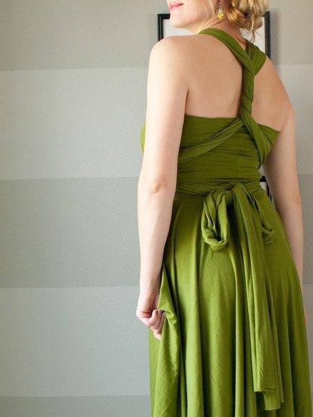Шью платье трансформер своими руками