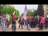 Краматорск: Похороны Юлии Изотовой , убитой Украинскими солдатами..