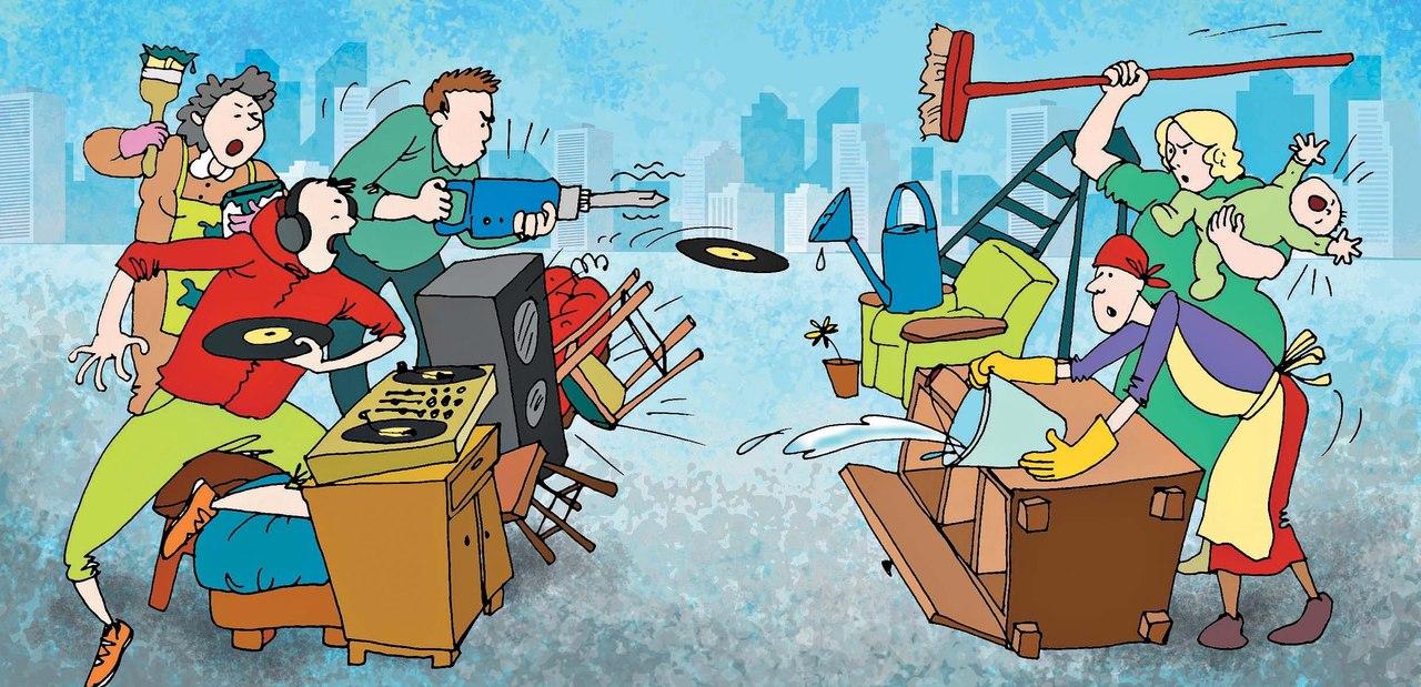 В преддверие конкурса начинаются споры за жилье
